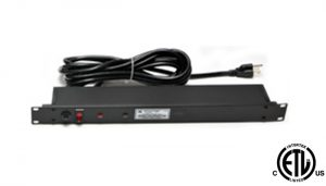 Rack Mountable 1U size Surge Suppressors