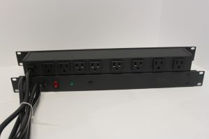 Rack Mountable 1U size Power Strips